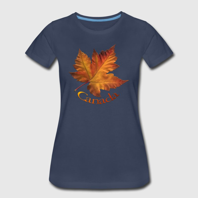 Women's Canada T-shirt Plus Size Maple Leaf Souven - Women's Premium T-Shirt
