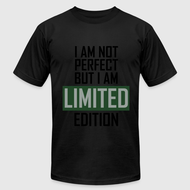 I'm not perfect but I'm limited edition T-Shirts - Men's Fine Jersey T-Shirt