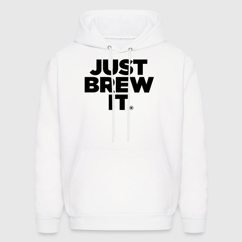 Just Brew It® Men's Hoodie - Men's Hoodie