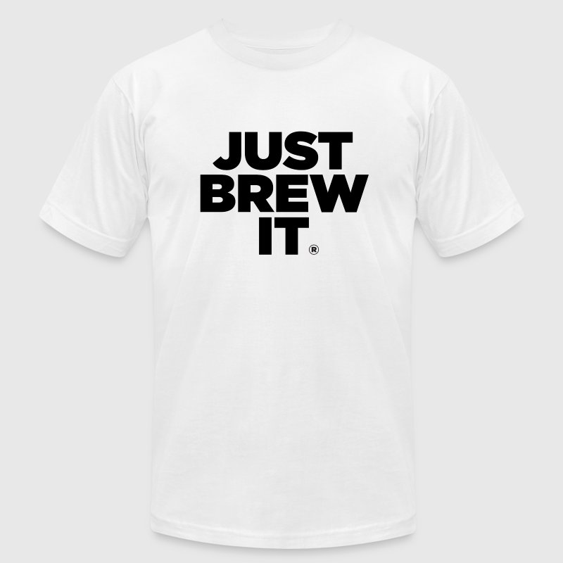 Just Brew It® Shirt - Men's Fine Jersey T-Shirt