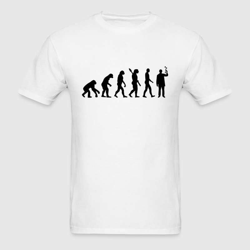 Evolution Chemist T-Shirts - Men's T-Shirt