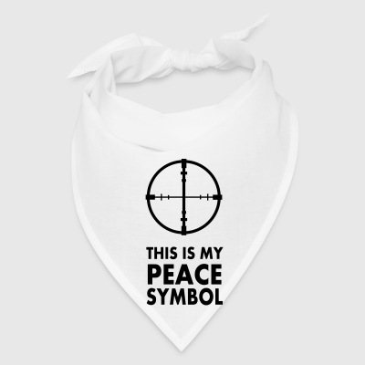 This is my peace symbol - Bandana