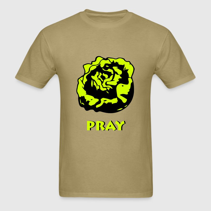 Lettuce Pray T Shirt - Men's T-Shirt