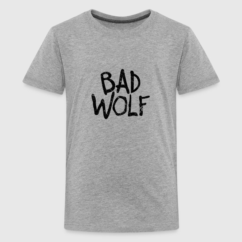 Bad Wolf - Doctor Who  | Robot Plunger - Kids' Premium T-Shirt