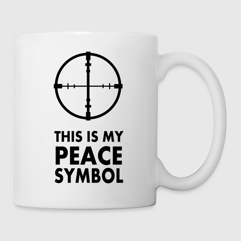 This is my peace symbol - Coffee/Tea Mug