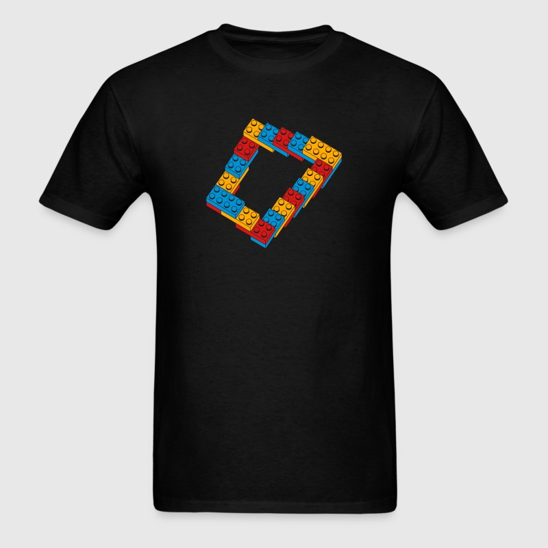 optical illusion - endless steps T-Shirts - Men's T-Shirt