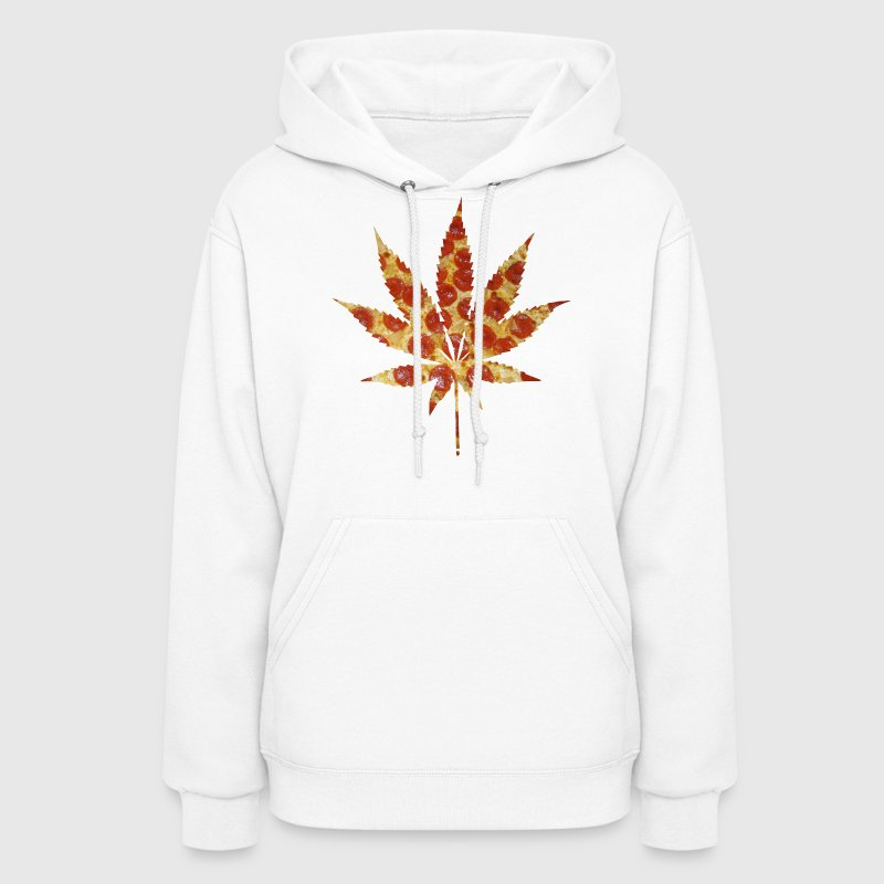Pizza And Weed Hoodies - Women's Hoodie