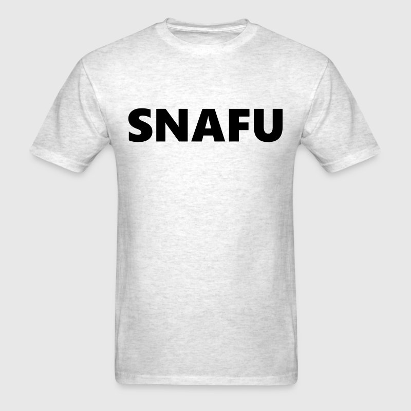 Men's T-shirt - SNAFU / red - Men's T-Shirt