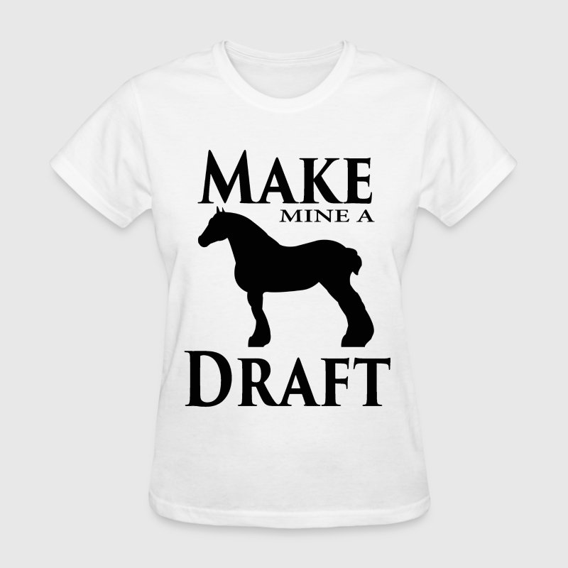 Make Mine a Draft Women's T-Shirts - Women's T-Shirt