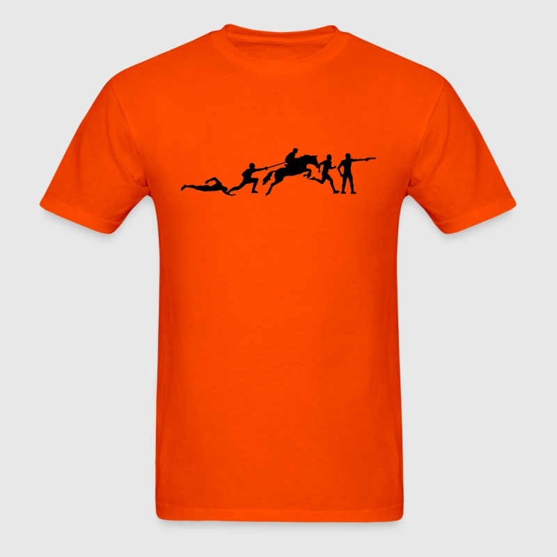 pentathlon T-Shirts - Men's T-Shirt