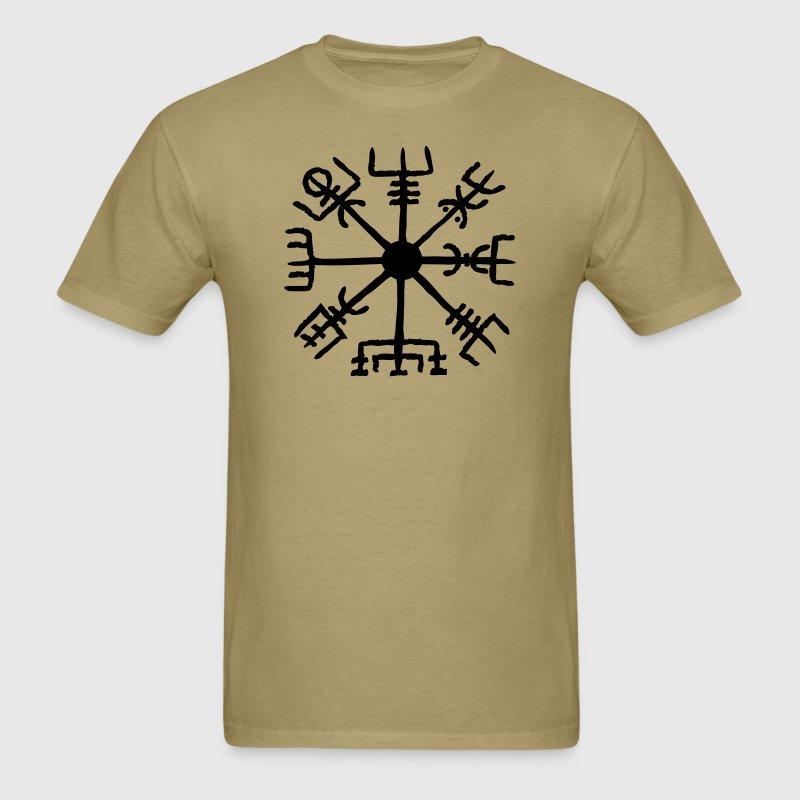 Vegvisir, celtic, runes T-Shirts - Men's T-Shirt