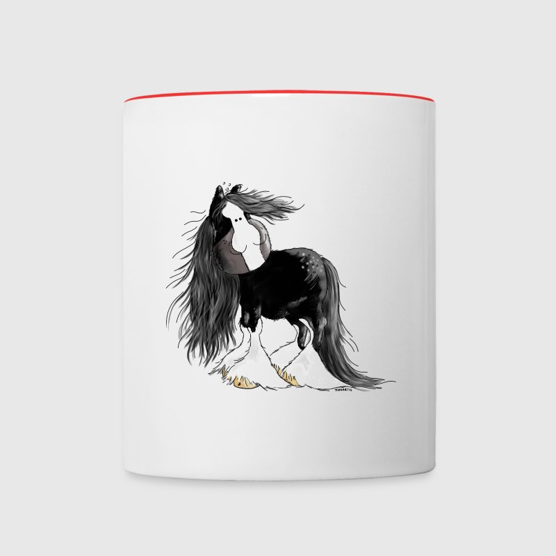 Gentle Giant - Shire Horse - Cartoon Bottles & Mugs - Contrast Coffee Mug