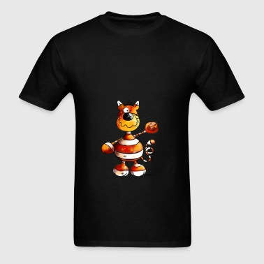 Crazy Cat - Cartoon  Bags & backpacks - Men's T-Shirt
