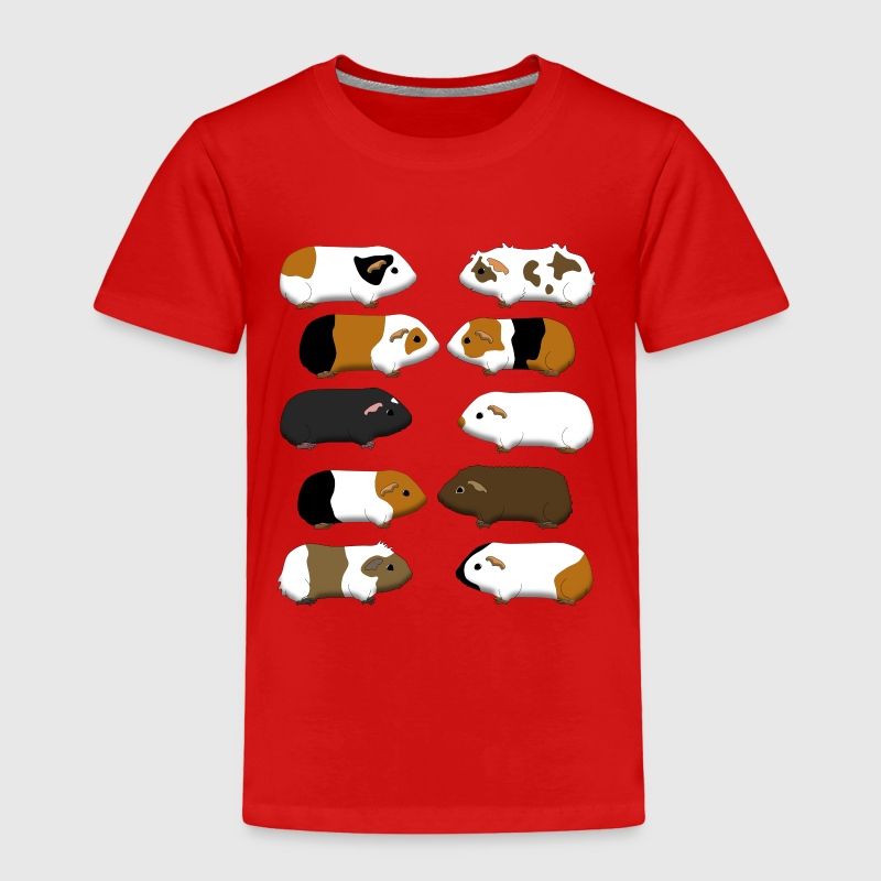 10 guinea pigs Baby & Toddler Shirts - Toddler Premium T-Shirt