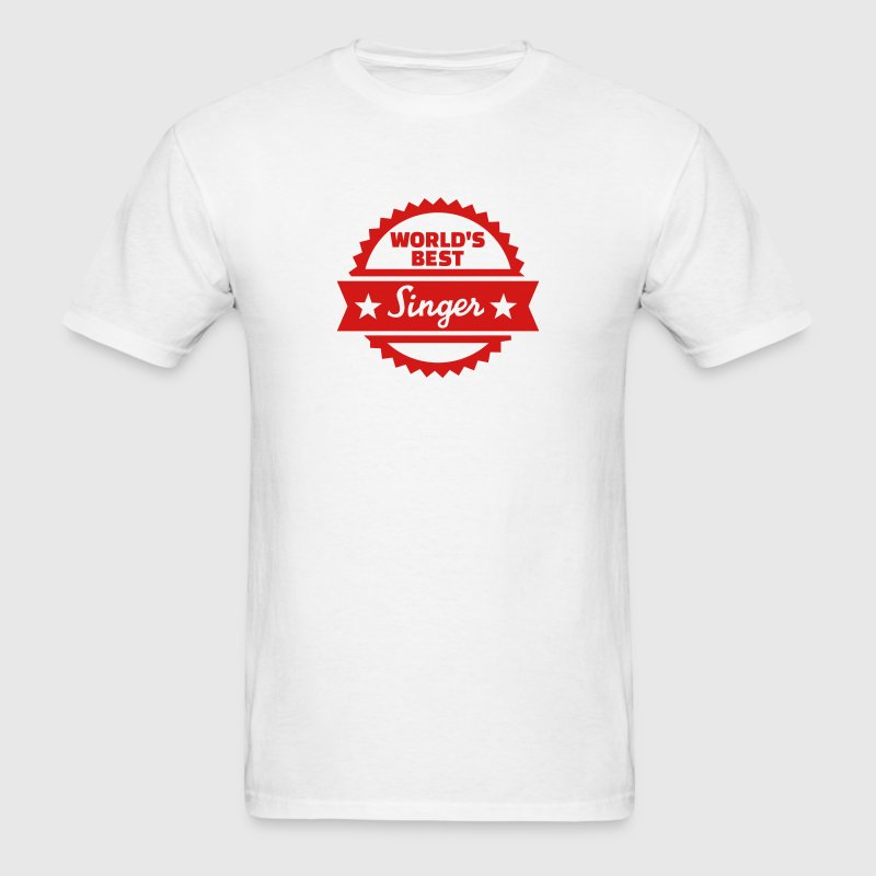 World's Best Singer T-Shirts - Men's T-Shirt