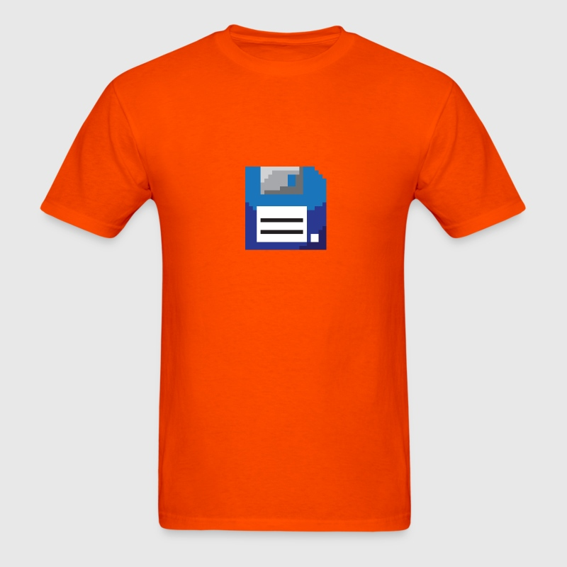 8bit floppy disk - Men's T-Shirt