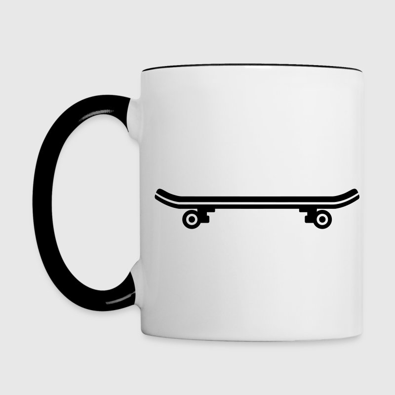 Skateboard Bottles & Mugs - Contrast Coffee Mug