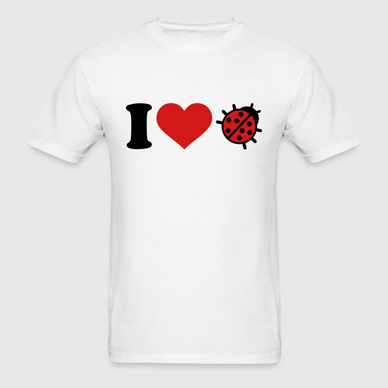 I love Ladybug T-Shirts - Men's T-Shirt