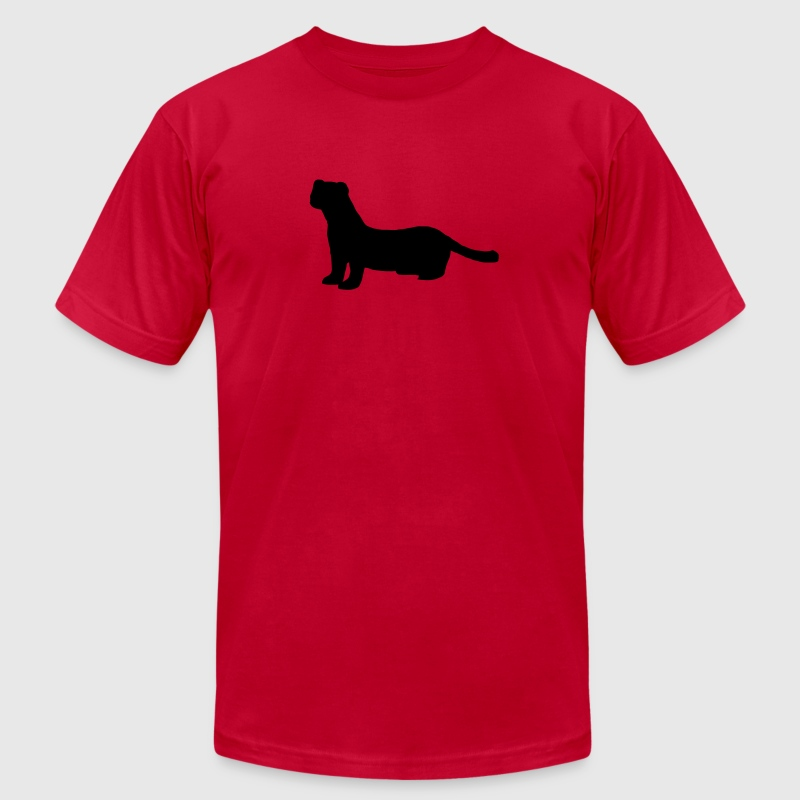 mink martens otters stoats weasels oldest animals  T-Shirts - Men's T-Shirt by American Apparel