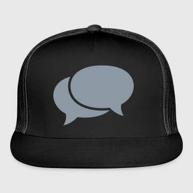 speech bubbles Bags & backpacks - Trucker Cap