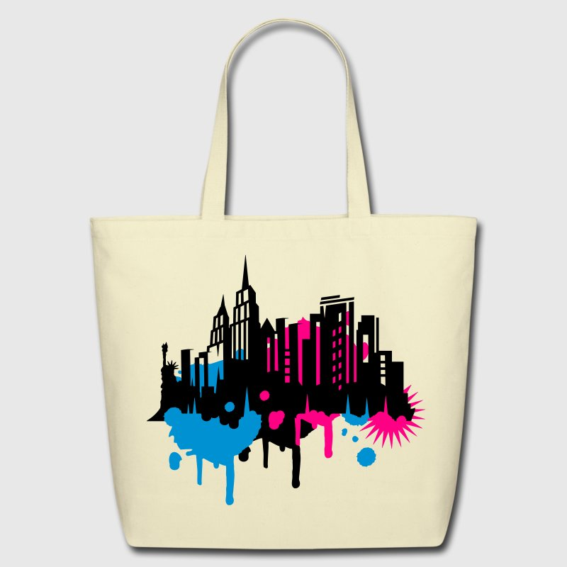 New York Graffiti Bags & backpacks - Eco-Friendly Cotton Tote