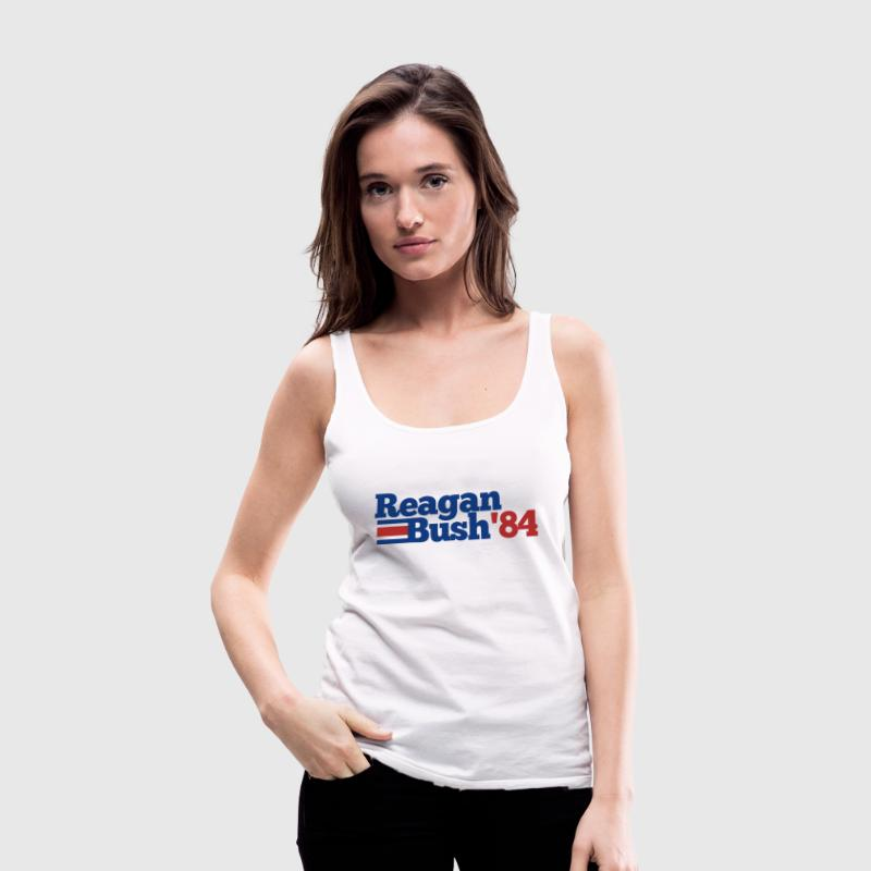Reagan Bush 84 - Women's Premium Tank Top