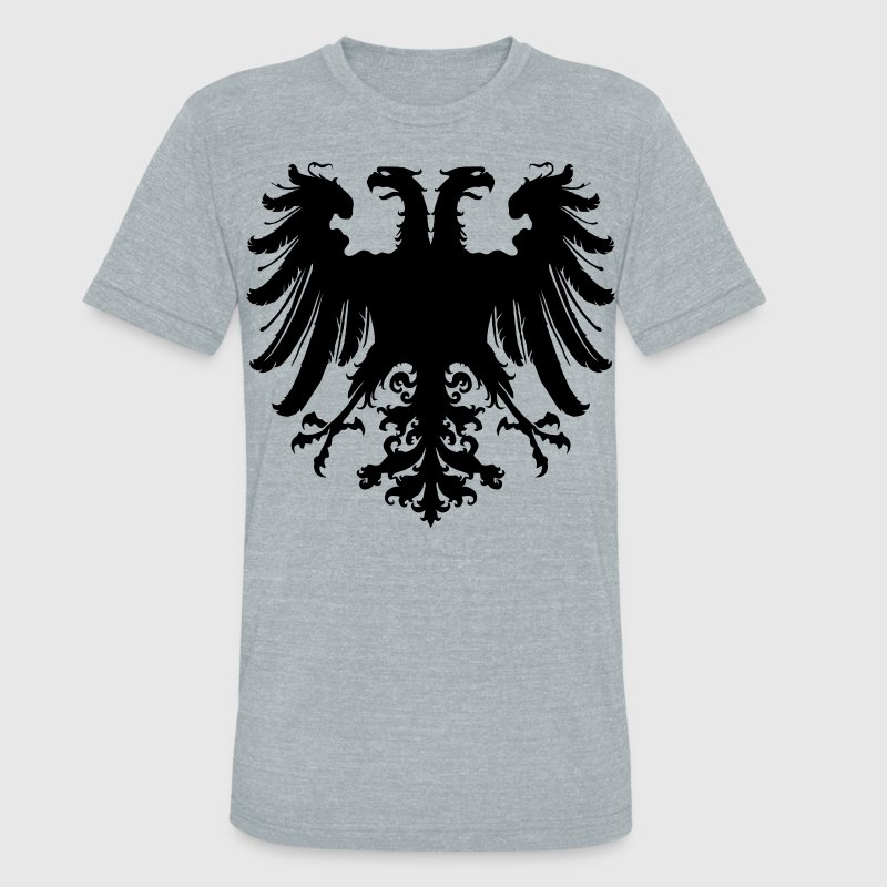 Holy Roman Empire Eagle T-Shirts - Unisex Tri-Blend T-Shirt by American Apparel