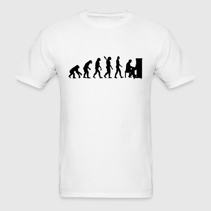 Evolution Piano T-Shirts - Men's T-Shirt
