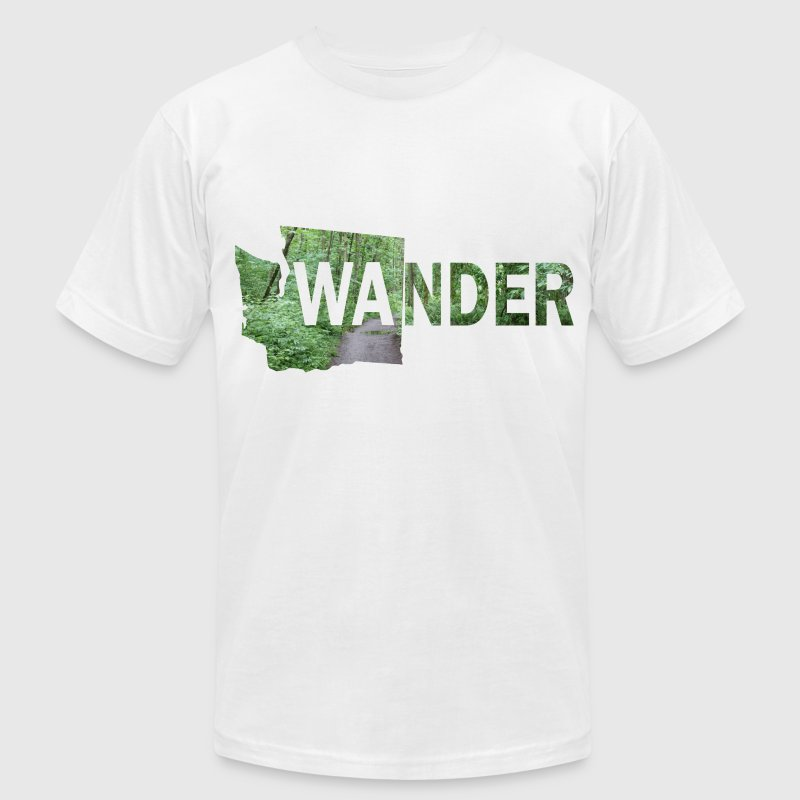 WAnder T-Shirts - Men's T-Shirt by American Apparel