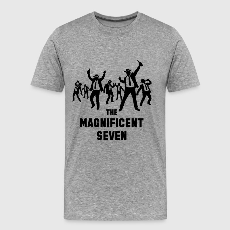 The Magnificent Seven (Drinking Team) T-Shirts - Men's Premium T-Shirt
