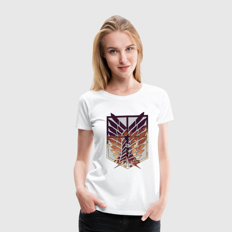 Wings of freedom Women's T-Shirts - Women's Premium T-Shirt