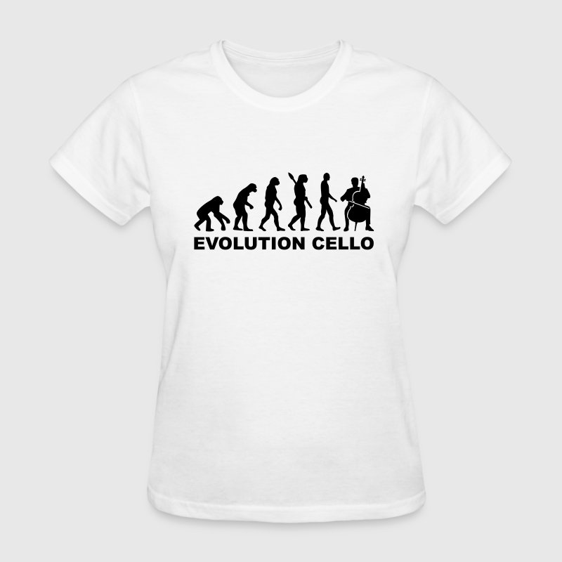 Evolution Cello Women's T-Shirts - Women's T-Shirt