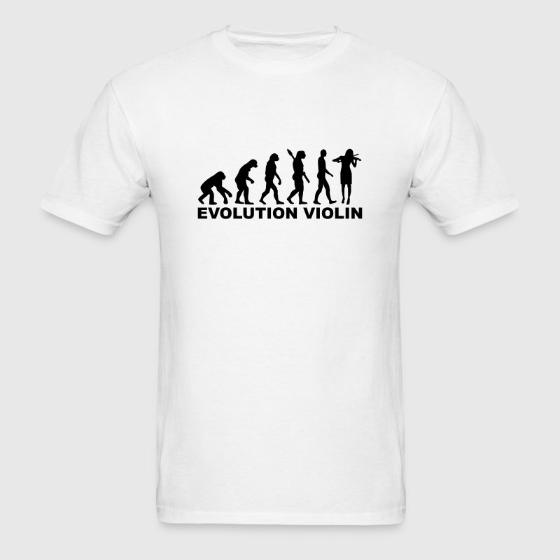 Evolution violin T-Shirts - Men's T-Shirt