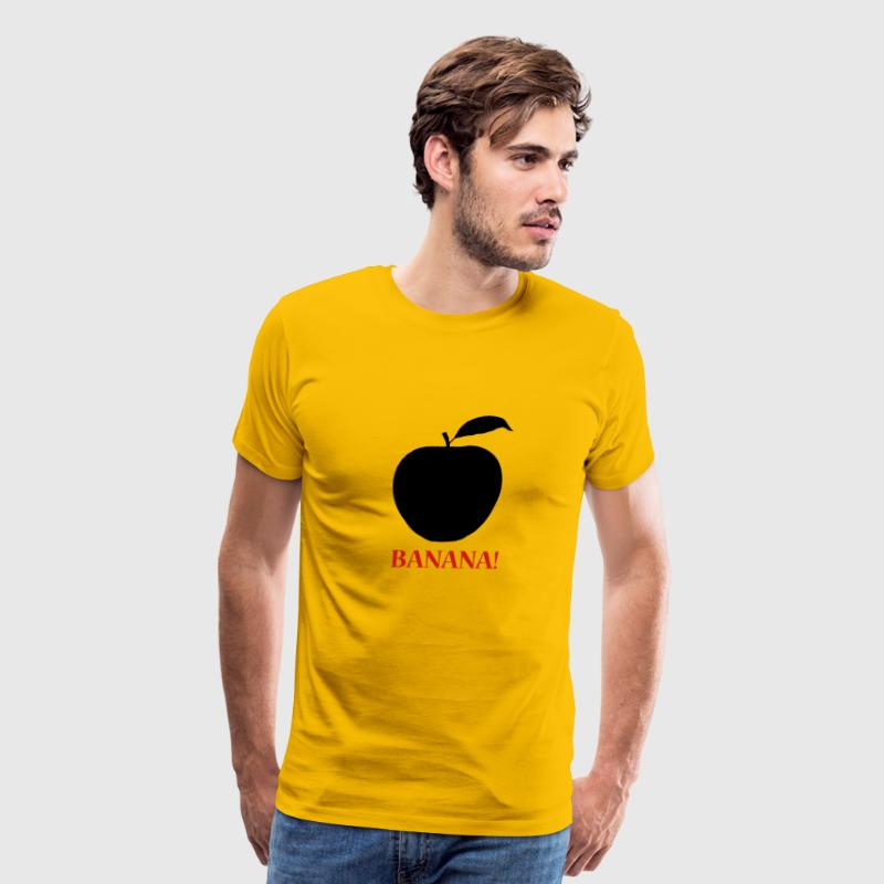 BANANA! ( Apple) T-Shirts - Men's Premium T-Shirt