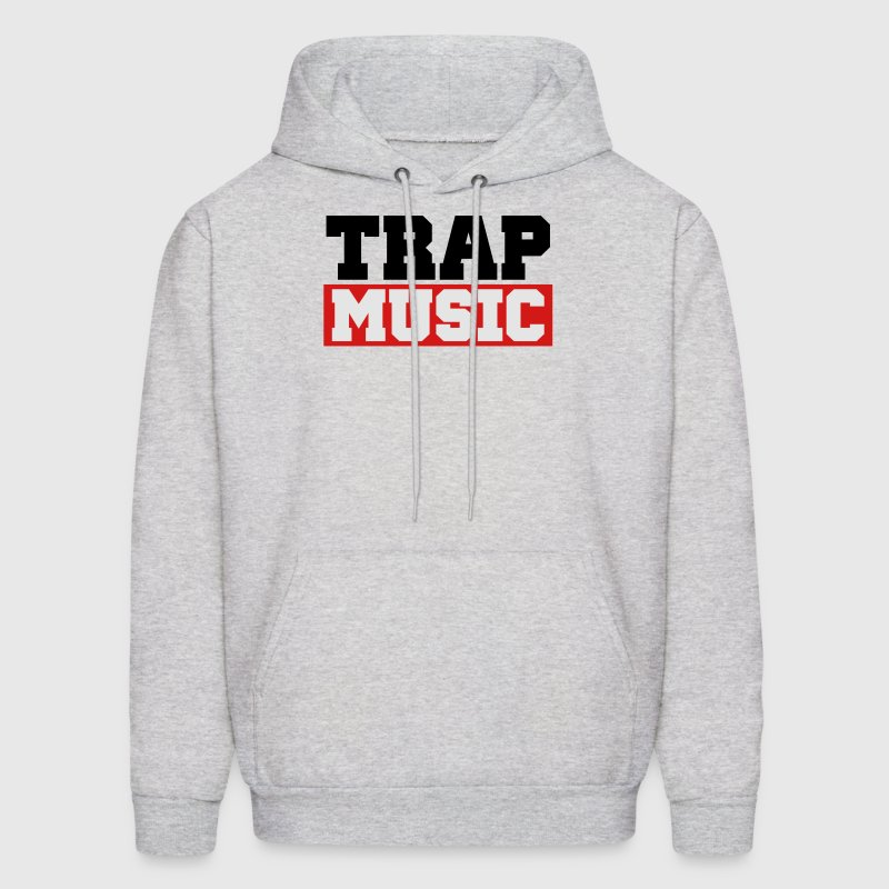 TRAP MUSIC - BASS PARTY Hoodies - Men's Hoodie