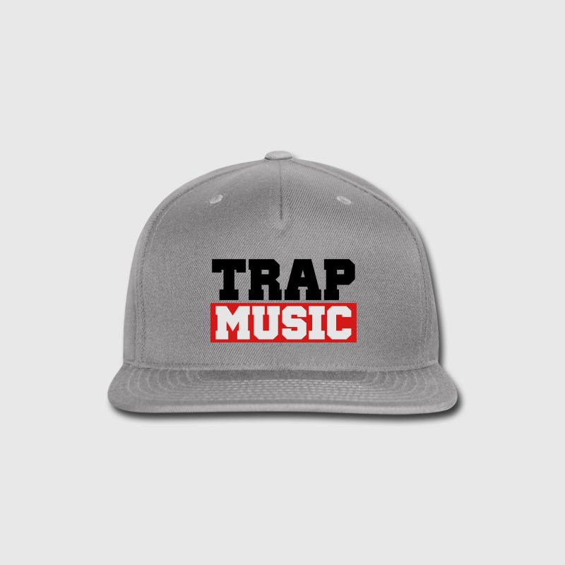 TRAP MUSIC - BASS PARTY Caps - Snap-back Baseball Cap