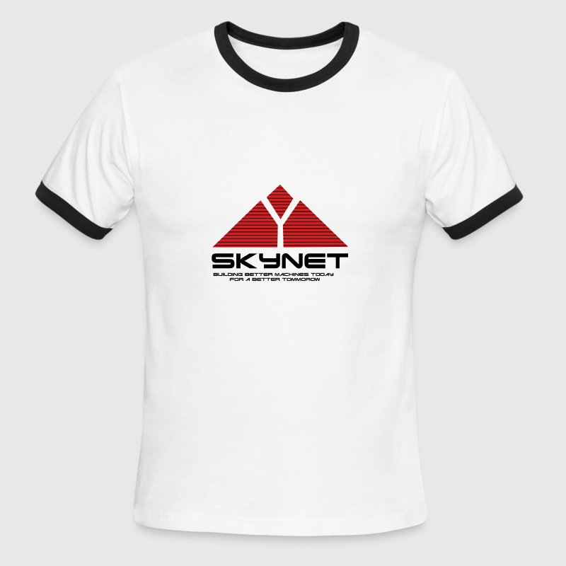sky net - Men's Ringer T-Shirt