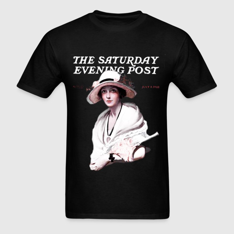 Saturday Evening Post 1922 T-Shirts - Men's T-Shirt