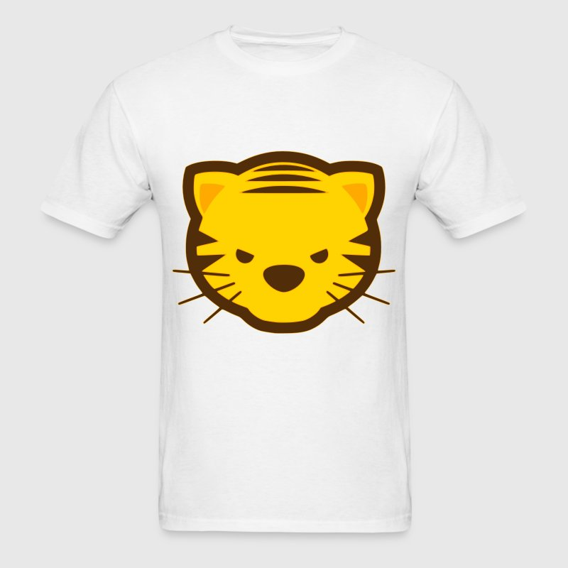 Kawaii Tiger T-Shirts - Men's T-Shirt