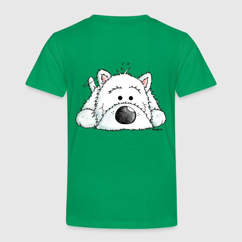 Westie Wear - Clothing styled with West Highland White ...