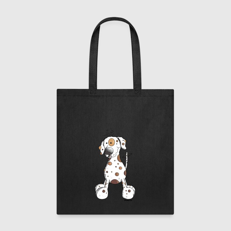 Funny Dalmatian - Dog Bags & backpacks - Tote Bag