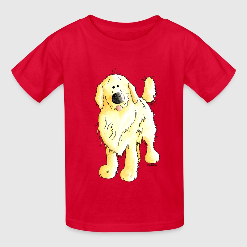 Funny Golden Retriever - Dog Kids' Shirts - Kids' T-Shirt