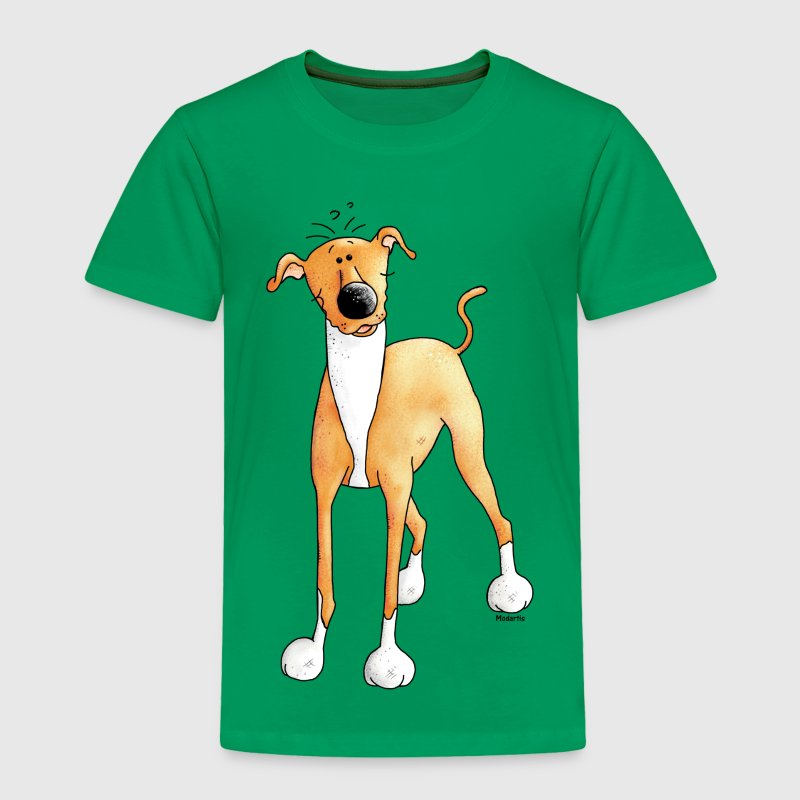 Funny Greyhound - Dog - Dogs Baby & Toddler Shirts - Toddler Premium T-Shirt