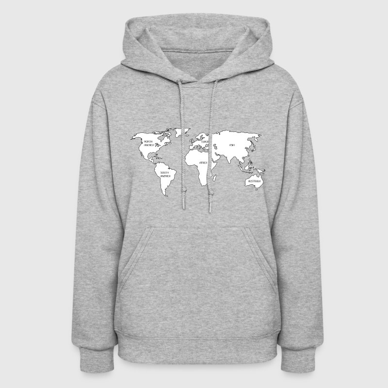 World map hoodie spreadshirt gumiabroncs Choice Image