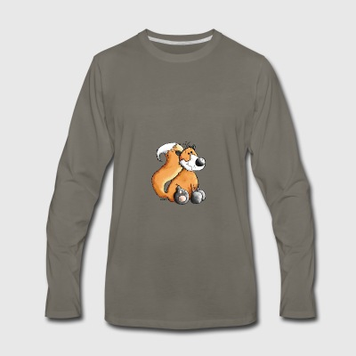 Sweet Fox - Woodland Animals - Wildlife Baby & Toddler Shirts - Men's Premium Long Sleeve T-Shirt