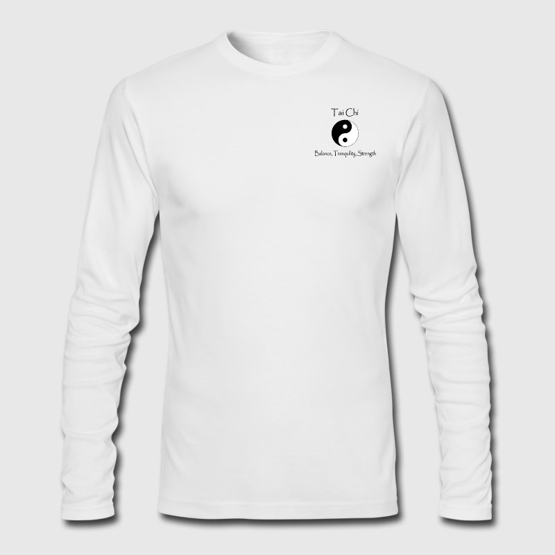 Men's Tai Chi - Balance, Tranquility, Strength - Men's Long Sleeve T-Shirt by Next Level
