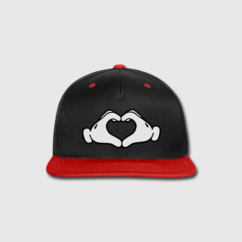 mickey mouse baseball cap for adults by neff love hands caps snap hatcher card white