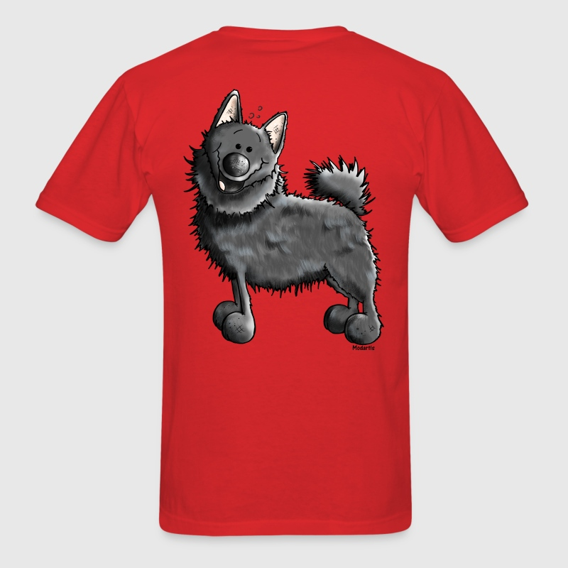 Funny Schipperke - Dog - Dogs T-Shirts - Men's T-Shirt
