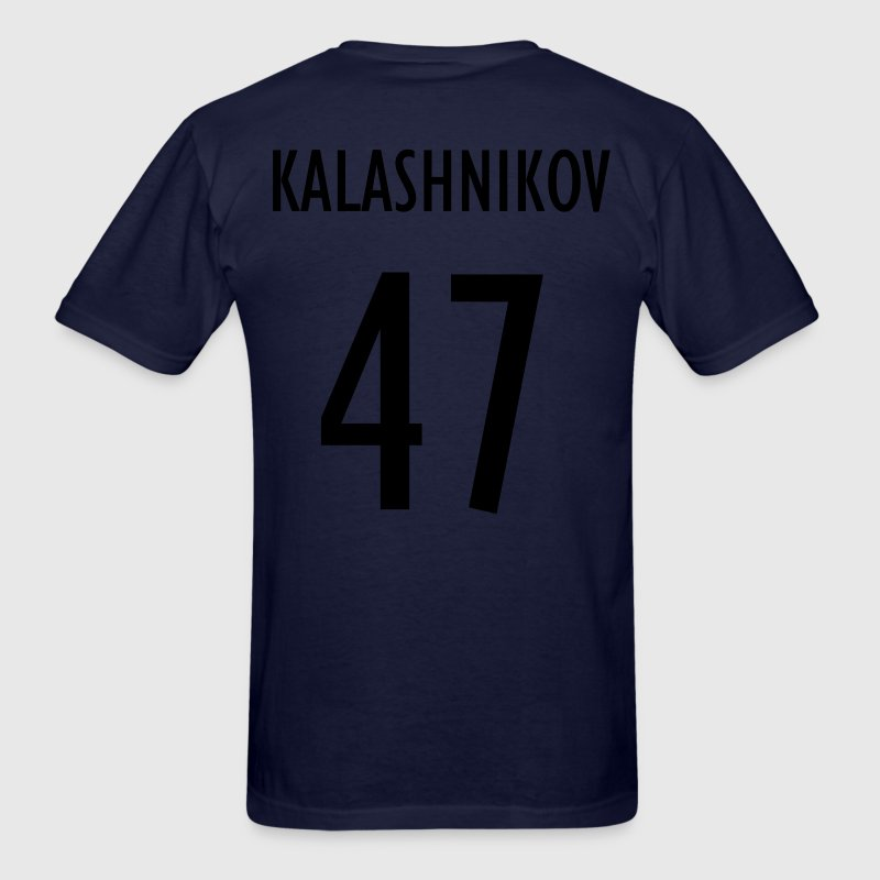 Men's Blue Team Kalashnikov Shirt - Men's T-Shirt
