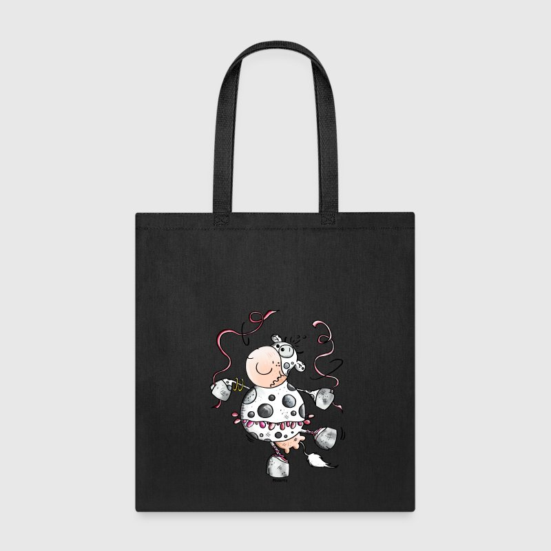 Prima Ballerina Cow - Cows Bags & backpacks - Tote Bag